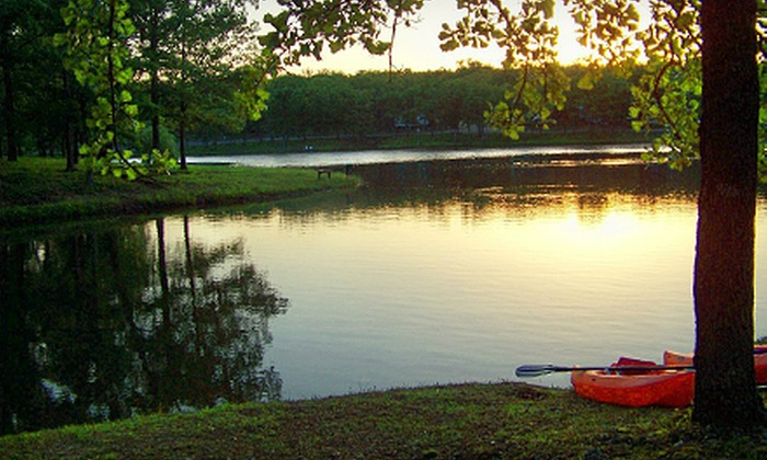 Meramec Valley Campground & RV Park - Cuba: Camping with Canoe or Raft Rental and Optional Amenities at Meramec Valley Campground & RV Park (Up to 57% Off)