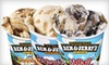 Ben & Jerry's - Multiple Locations: $139 for a Catered Cup and Cone Party for Up to 25 Guests from Ben & Jerry's (Up to $280 Value)