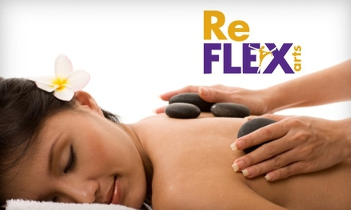 ReFLEX Arts - Sarasota: $49 for a 50-Minute Hot-Stone Massage, One 15-Minute Add-On, and Aromatherapy Treatment at ReFlex Arts in Sarasota