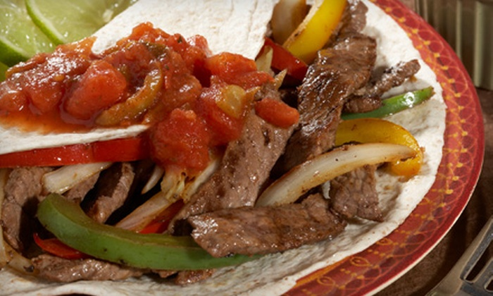 Margaritas Mexican Restaurant - Bellewood: Fajita Dinner for Two with Appetizer and Entrees or Mexican Fare at Margaritas Mexican Restaurant
