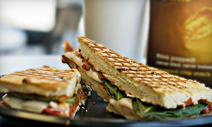Full Cup Bakery & Café - Multiple Locations: Café Meal for Two with Frappes or $10 for $20 Worth of Café Fare at Full Cup Bakery & Café. Two Locations Available.