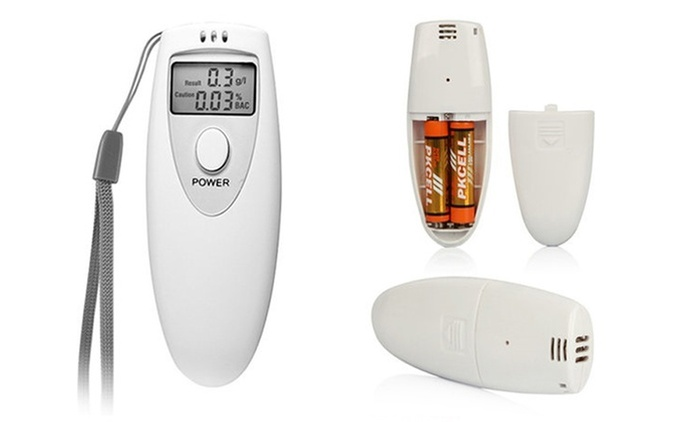 Digital Alcohol Breathalyzer with LED (Shipping Included)