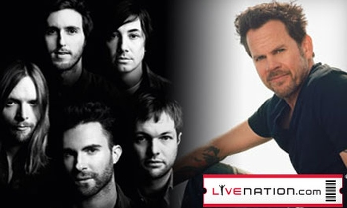 Live Nation Dallas - South Dallas: Tickets to a Maroon 5 or Gary Allan Concert at the Superpages.com Center. Choose from Three Options.