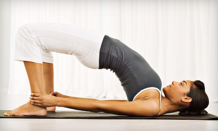 Balance Yoga Center - Edenvale: Five or Ten Drop-in Yoga Classes at Balance Yoga Center (Up to 77% Off)