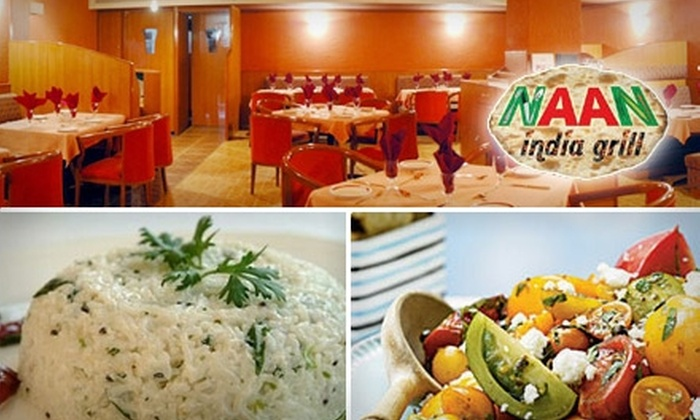 Naan India Grill - Sacramento: $10 for $20 Worth of Indian Fare at Naan India Grill