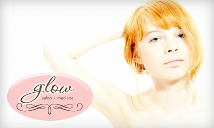 Glow Medical Spa and Salon - Irving: $49 for Spa & Salon Services from Glow Medical Spa and Salon (Up to $125 Value). Choose from Six Options.