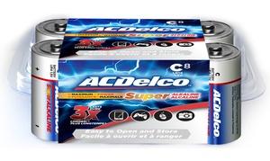 ACDelco Super Alkaline C Batteries (8-Pack)
