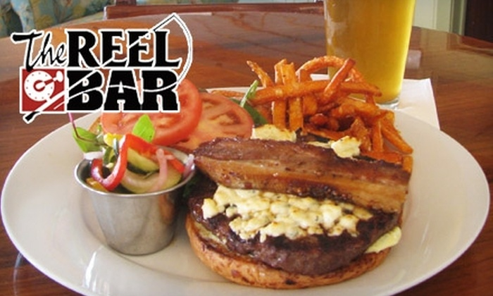 The Reel Bar - Mount Pleasant: $15 for $30 Worth of Casual Bar Fare and Drinks at The Reel Bar in Mount Pleasant