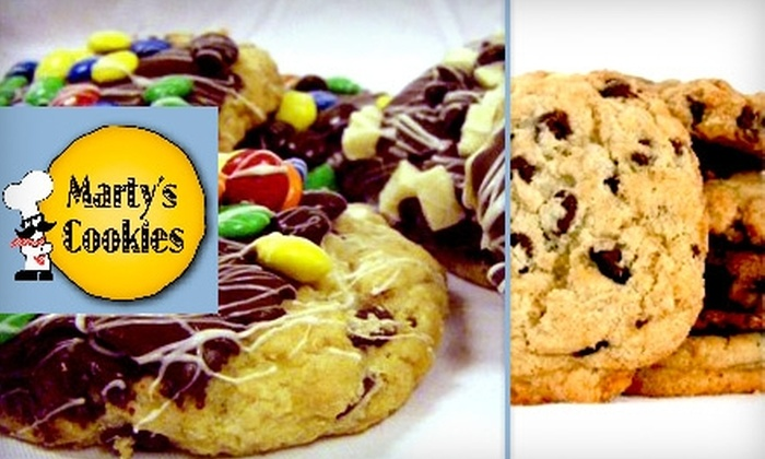 Marty's Cookies & Bagels - Detroit: $10 for $20 Worth of Cookies, Cakes, and Treats at Marty's Cookies