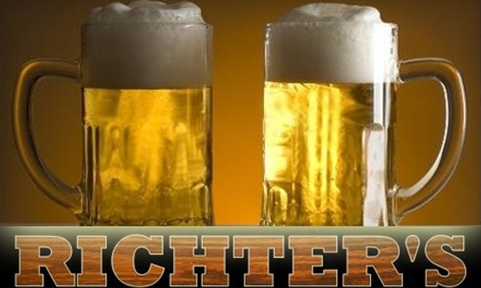 Richter's Café - Downtown: $10 for $20 Worth of Pub Grub and Drinks at Richter's Café in New Haven