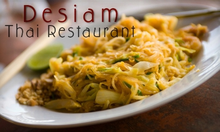 Desiam Thai Restaurant - Whitby: $7 for $15 Worth of Fare and Drink at Desiam Thai Restaurant in Whitby