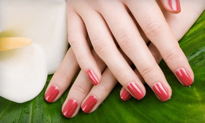 Simple Indulgence Day Spa - Fiskdale: Shellac Manicure or Shellac Manicure with Pedicure at Simple Indulgence Day Spa in Sturbridge (Up to 53% Off)