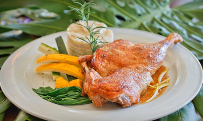 Bamboo Café  - Old Naples: $20 for $40 Worth of French Comfort Fare at Bamboo Café
