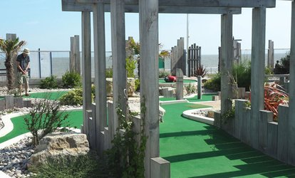 Adventure Golf for Two Adults or a Family of Four at Greensward Cafe and Adventure Golf (50% Off)