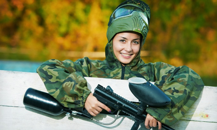 Vintage Paintball Park - River Falls: Open-Play Package for Two, Four, or Eight at Vintage Paintball Park (Up to 56% Off)