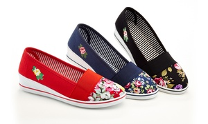 Rasolli Women's Slip-On Wedge Sneakers