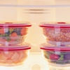 Set of 4 Collapse-It 4-Cup Food Storage Containers