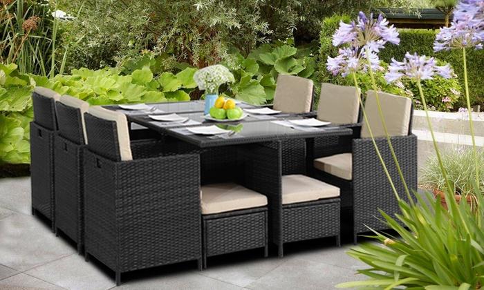 Conjunto de muebles para jardín | Groupon Goods