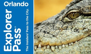 Go City Card: Orlando Explorer Pass includes admission to 3 or 5 attractions from 15 options. Pay Nothing at The Gate.