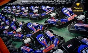 Kart Premium ABC: Bateria de 30 minutos de kart para 1 ou 5 pessoas no Kart Premium ABC – Shopping Global