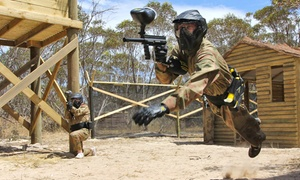 Delta Force Paintball: All-Day Paintball Game for One ($10), Two ($19) Four ($29) Six People ($39) at Delta Force Paintball (Up to $210 Value)