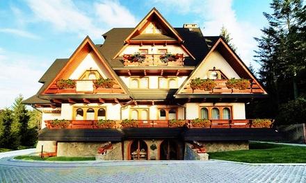 Ferie i zima w Zakopanem: 2-11 dni dla 2, 4, 6 lub 8 osób w apartamencie z dostępem do sauny w Willi Kosówka