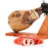 Prosciutto iberico con coltelli