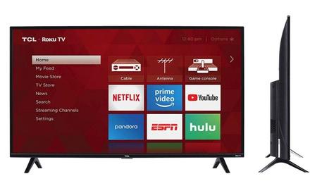 "TCL 40"" 1080p Smart LED Roku TV (Refurbished)"