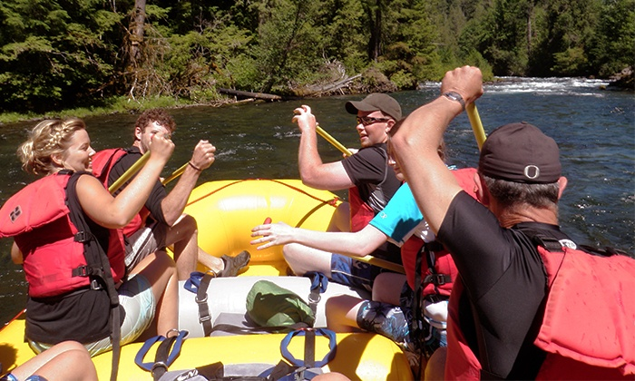 All-Star Outfitters - McKenzie River: $75 for 12-Mile Whitewater-Rafting Trip for Two with Lunch from All-Star Outfitters ($140 Value)