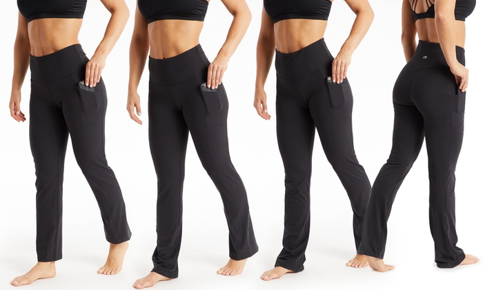 a30108c69c17c3 Marika Women's Pocket Yoga Pants in Lengths. Plus Sizes Available ...