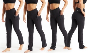 Marika Women's Pocket Yoga Pants in Lengths. Plus Sizes Available.