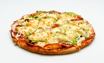 image for Italian Cuisine at Santa Lucia Pizza (Up to 29% Off). Two Options Available.