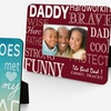 50% Off a Personalized Father Picture Frame
