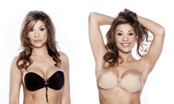 ed72c2f8dd693 Up To 82% Off on Push-Up Adhesive Bra (2-Pack)