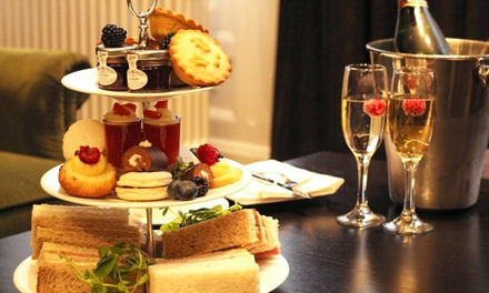 Traditional Afternoon Tea with Prosecco for Two at 4* DoubleTree Hilton Liverpool (25% Off)
