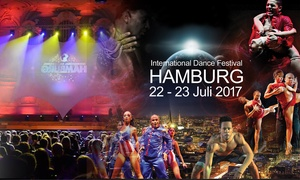 International Dance Festival Hamburg: International Dance Festival mit Top-Tänzern am 22.07.2017 um 21:30 Uhr in der Laeiszhalle Hamburg (50% sparen)
