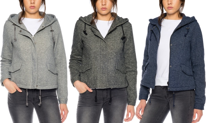 new arrival f2cfb a609f Only Damen-Jacke in Woll-Optik | Groupon