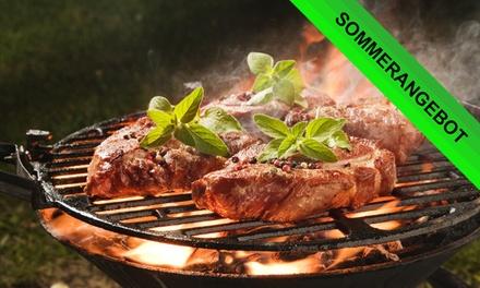 3-Gänge-Menü mit Grillteller für Zwei oder Vier im Mendoza Steakhaus Am Tierpark (bis zu 41% sparen*)