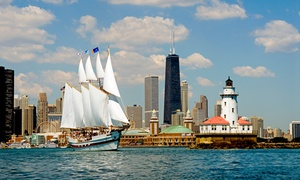 Tall Ship Windy of Chicago: 75-Minute Sailing Tour for One or Two on Tall Ship Windy of Chicago (Up to 27% Off)