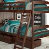 Manhattan Comfort Solid Pine Twin-Size Bunk Beds