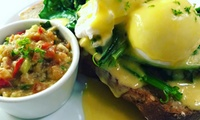 French-Inspired Bistro Brunch for Two ($24) or Four People ($47) at La Cigale French Bistro, Parnell (Up to $78 Value)