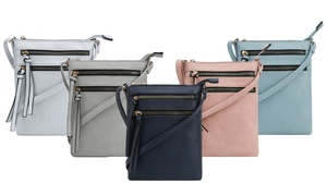 MKII Nina Multi-Zip Crossbody Bag