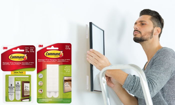 3M Command Picture Hanging Strips from £3.49