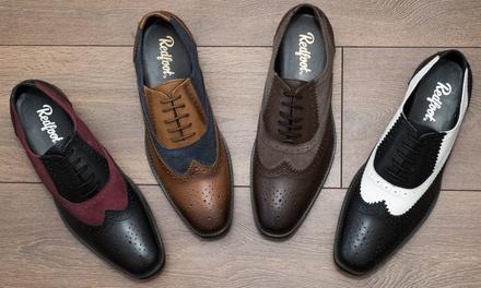 Scarpe in pelle Redfoot modello Gatsby Brogue disponibili in vari colori e misure