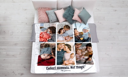 One or Two Custom Faux-Mink Photo Blankets from Printerpix (Up to 95% Off)