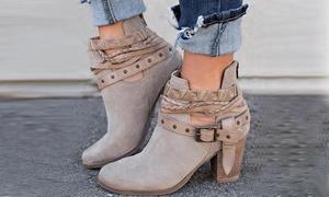 (Mode)  Boots à talons Katia -57% réduction