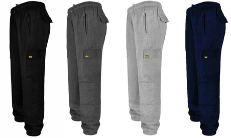 MIG Cargo Jogging Bottoms with Knee Pads