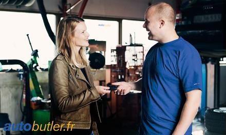 Bon dachat de 100 € ou 150 € valable dans plus de 500 garages partenaires Autobutler.fr dès 50 €