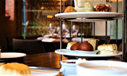High Chai Indian Afternoon Tea with Prosecco for Two or Four at Rasoi Indian Kitchen (Up to 42% Off)