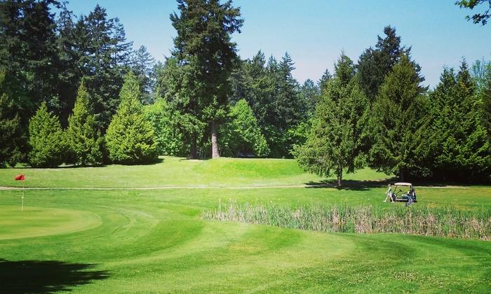 Royal Oak Golf Club - Victoria: Nine-Hole Round of Golf for Two or Four at Royal Oak Golf Club (Up to 55% Off)